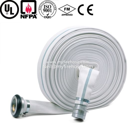 High Temperature Resistant Cotton Braided Fire Water Hose pictures & photos