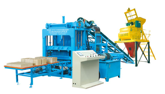 Hydraulic Paver Block Making Machine (QTY4-15) pictures & photos