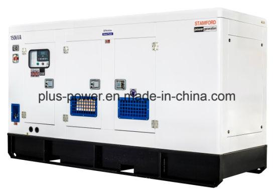 120kw / 150kVA Diesel Generator Set Silent Type with Perkins
