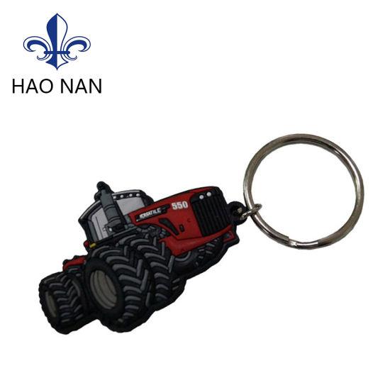 Cheap Custom Soft PVC Keychains No Minimum Order