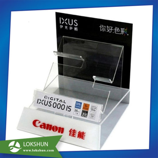 Custom Acrylic Counter Canon Camera Display Stand pictures & photos