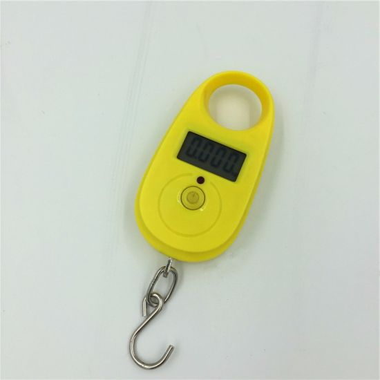 Color Mini Digital 25kg Electronic Weighing Scale for Shopping