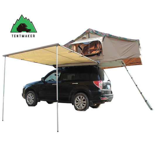 Ain-Proof Canopy Awning Folding Car Shelter Tent with Awning for Sale