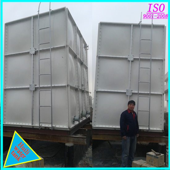 Light Weight and High Strength GRP Water Tank/ GRP Portable Water Tank Made  in China