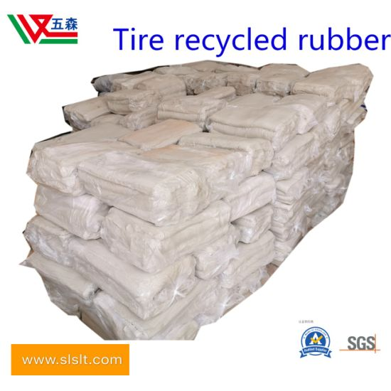 Tire Recycled Rubber, Asphalt Raw Material Rubber for Rubber Road Surface