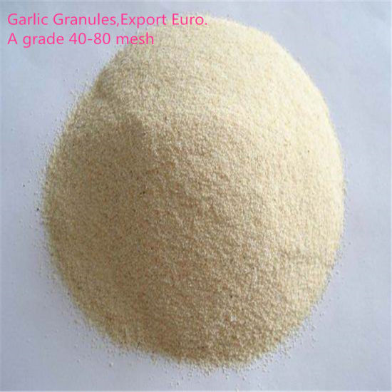 26-40mesh White A Grade Dehydrated Dried Minced Garlic Granules pictures & photos