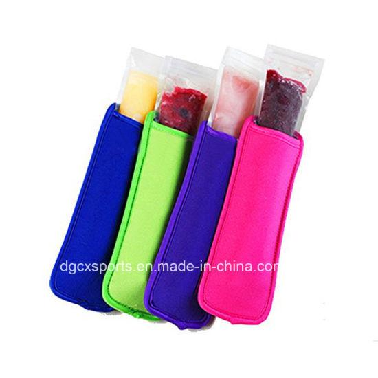 Promotion Neoprene Ice Popsicle Sleeve Holder Cooler Bag