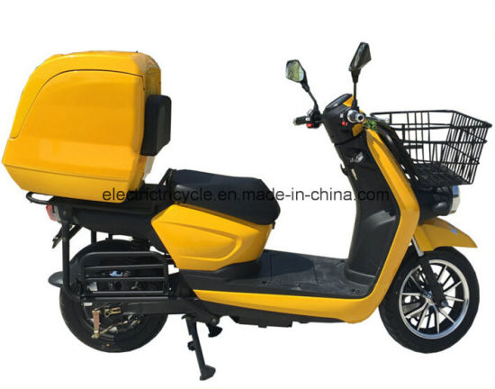 Electric Delivery Scooter with 1200W Motor Electric Scooter for Delivery pictures & photos
