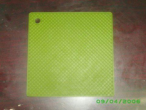 Green Silicone Hot Pad Worldwide