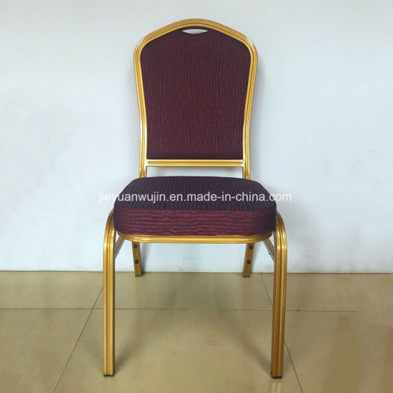 China Stackable Banquet Chair with Back Design for Hotel Reception ...