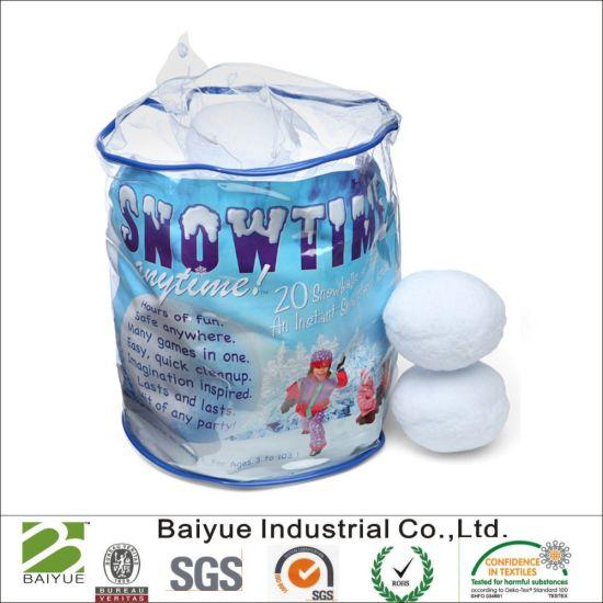 7.5cm Polypropylene Snow Ball for Christmas Decoration