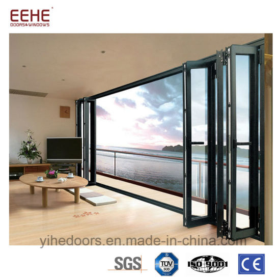 Aluminum Sliding Glass Door Bi Fold Door Manufacturing in Foshan  sc 1 st  Guangdong EHE Doors u0026 Windows Industry Co. Ltd. & China Aluminum Sliding Glass Door Bi Fold Door Manufacturing in ...
