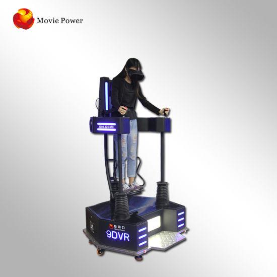 3dof 9d Vr Flight Simulator Vr Standing Platform Game Machine