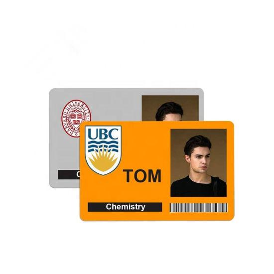 Employee Access Card Blank Photo ID Format