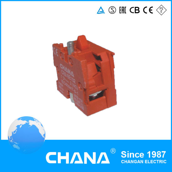 Red N/C Assembles Contact for Pushbutton Switch