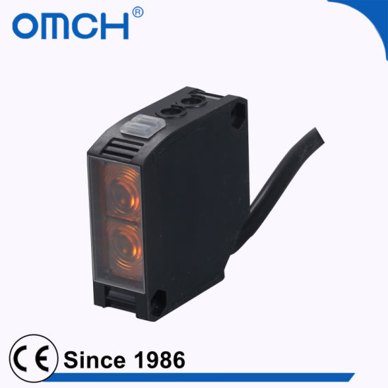 China 5 Wire Relay Output Photocell Sensor for Industrial Machine ...