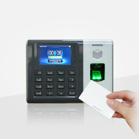 Fingerprint Biometric Time Attendance with RFID Card Reader (GT100/ID)