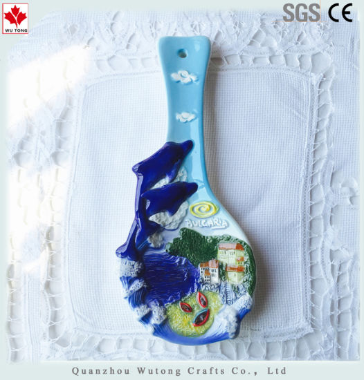Ceramic Table Ware Souvenir Items Hand Made Spoon Home Decoraiton pictures & photos