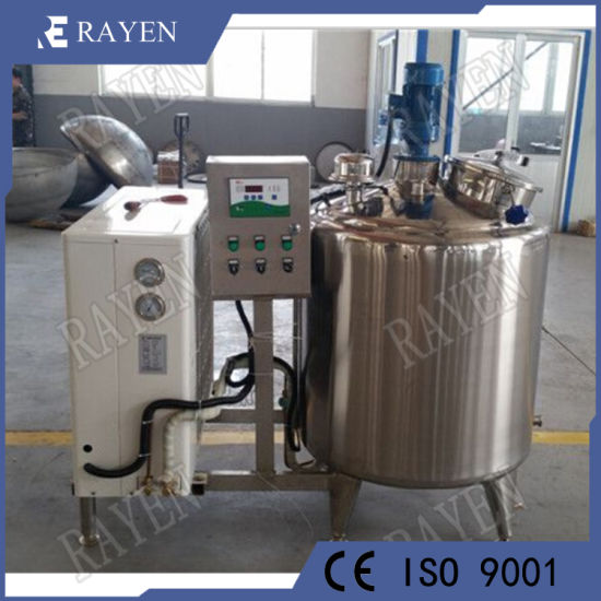 Stainless Steel Cooling Jacketed Tank 500L Dairy Refrigerated Cooling Milk Tank pictures & photos