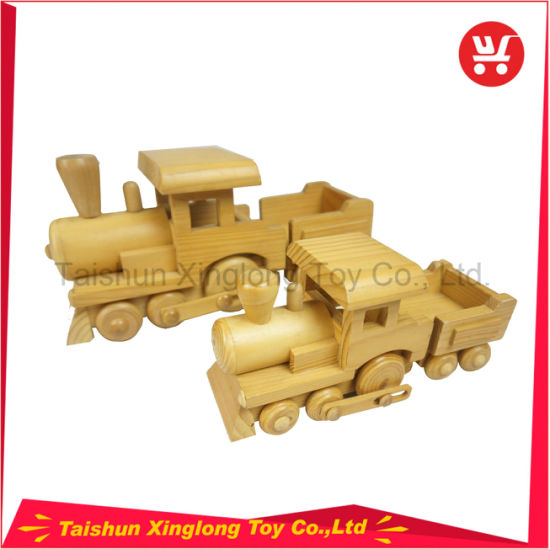 The Children′s Favorite Simulation Tractor Wooden Toys pictures & photos