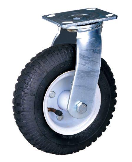 Pneumatic Wheel Swivel Caster, Heavy Duty Caster