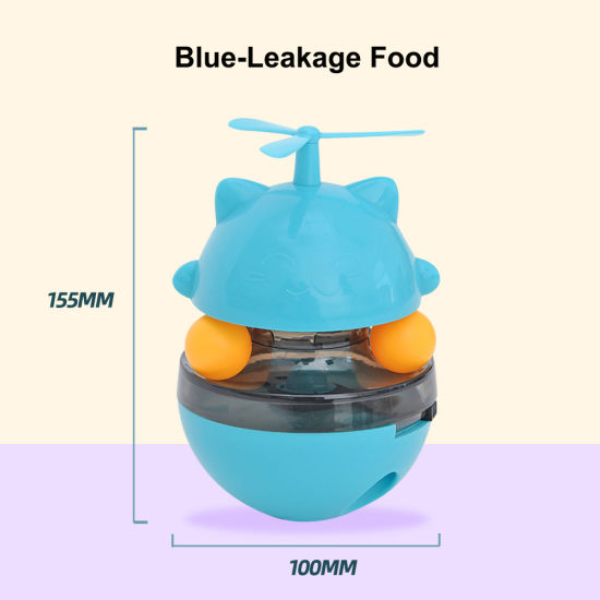 Top Seller Interactive Pet Cat Food Feeder Automatic Teaser Toy
