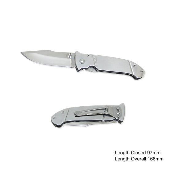 440 Stainless Steel Pocket Knife (#3672-717)