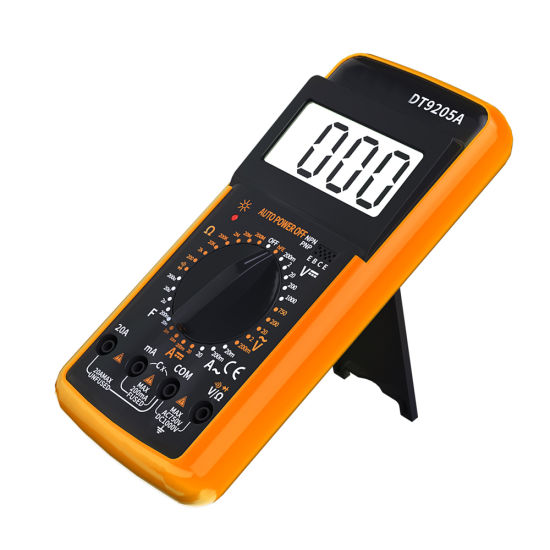 195*95*30mm Multifunction Electronic Multimeter Measure AC/DC Voltage DC Current Resistance with 199-Digit LCD
