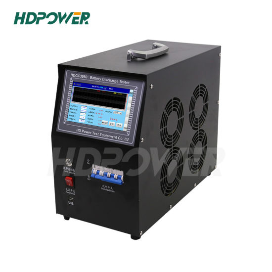 Manufacturer Portable DC Load Bank Battery Discharger and Capacity Tester 110V 100A Battery Discharge Load Bank Battery Load Discharge Test