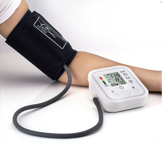 Arm Style Electronic Blood Pressure Monitor Checker