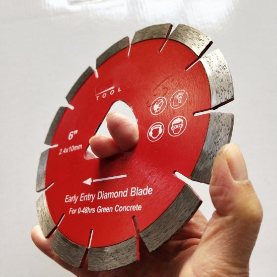 """Wholesale 6""""150mm Diamond Early Entry Saw Blades for Cutting Green Concrete"""