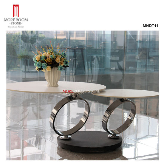 Wholesale Modern Style Custom Black White Marble Porcelain Coffee Table pictures & photos