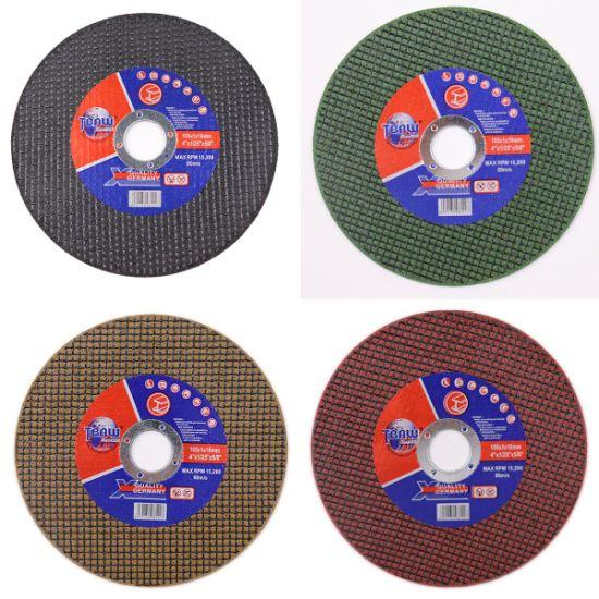100/105/107/115/125/150/180/230/350/355/400/405mm Free Sample Super Thin Abrasive Cut off Wheel Cutting Disc