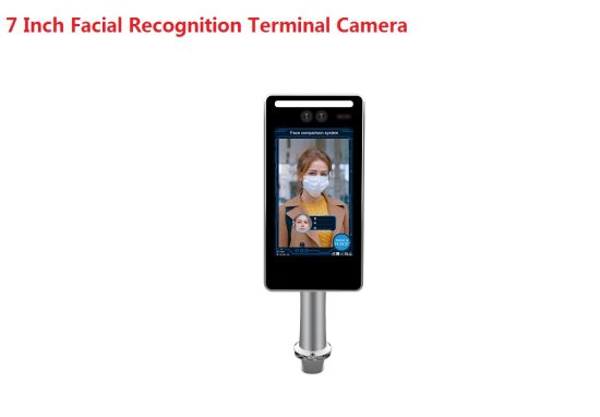 Fsan 7 Inch Face Recognition Access Control Time Attendance CCTV IP Camera