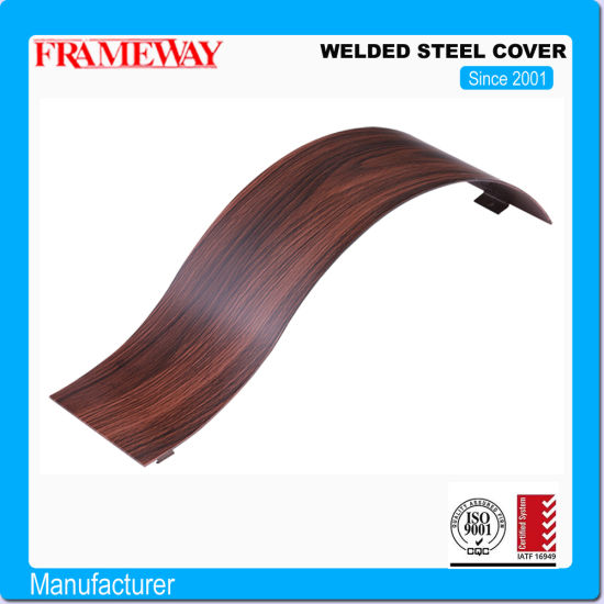 Welded Steel Cover/Water Transfer Print Iron Sheet/Custom Plated Color Decorative Iron Sheet