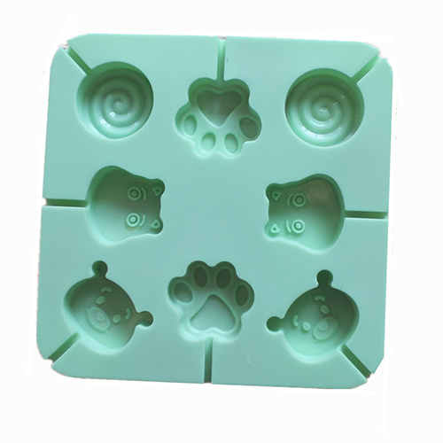 Silicone Animals Bakeware Mould, Cake Mould, Ice Cream Mould, Ice Tray, Square Silicone Cake Mold