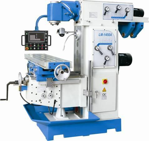 Knee Type Cheap Horizontal RAM Milling Machine Lm1450A pictures & photos