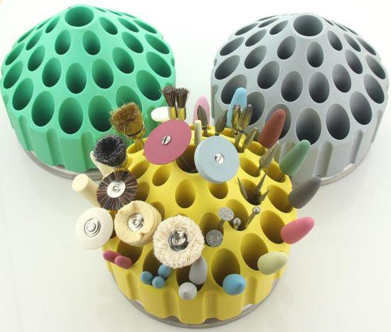 360 Degree Rotatable Dental Burs Collection Box