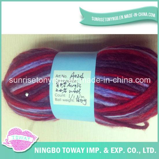 High Strength Fancy Wool Craft Hand Knitting Yarn