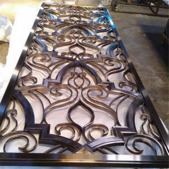 China Popular Design Interior Decorative Screens for Stainless Steel