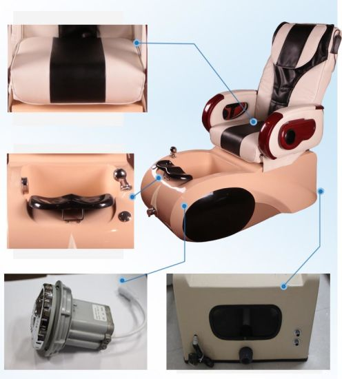Nail Beauty Salon SPA Pedicure Chair with Color Optional (A301-33) pictures & photos