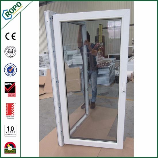 China Single Main Door Design Pvc Profile Front Doors Prices