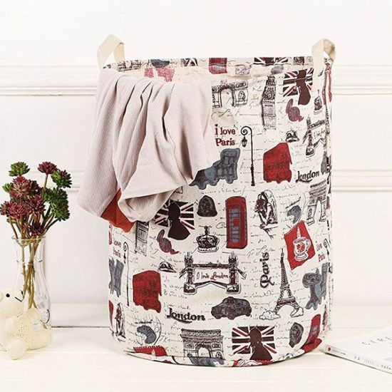 Round Canvas Waterproof Large Storage