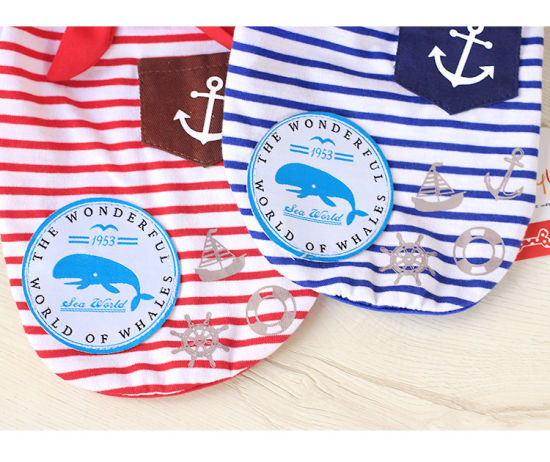 Pet Seaman Wooden Buckle Scarf Dog T-Shirt Wholesale pictures & photos