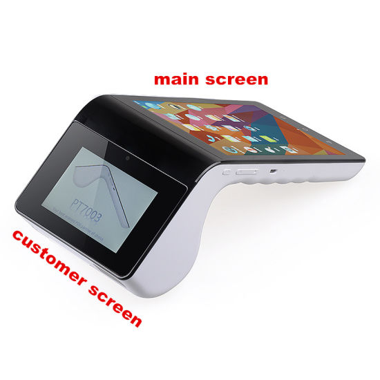 Android 5.1 Smart POS Device Wireless Card Reader Android POS NFC Payment Terminal PT7003 pictures & photos