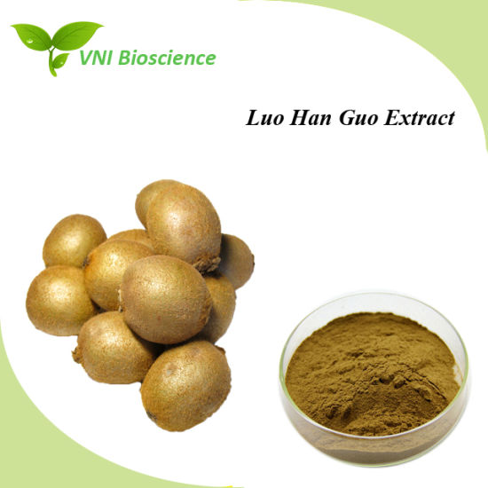 ISO SGS Certified Momordica Grosvenori Extract/Luo Han Guo Extract pictures & photos