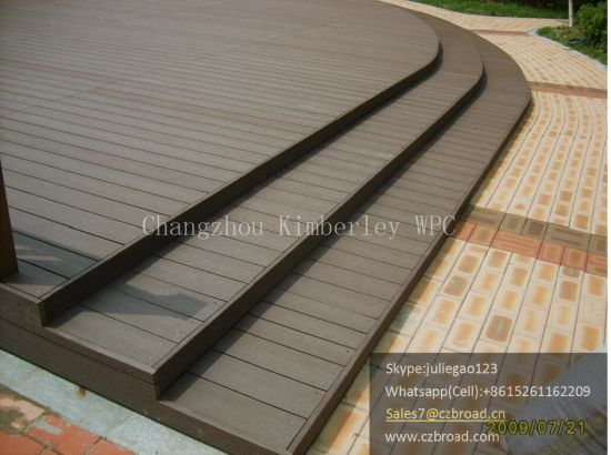140*25mm High Quality WPC Solid Decking with Wood Testure, Good Price Outdoor Flooring pictures & photos