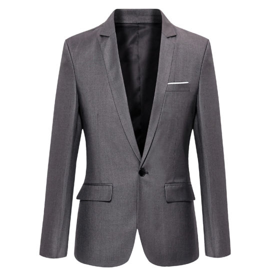 Latest High Quality Slim Classical Business Suit for Men