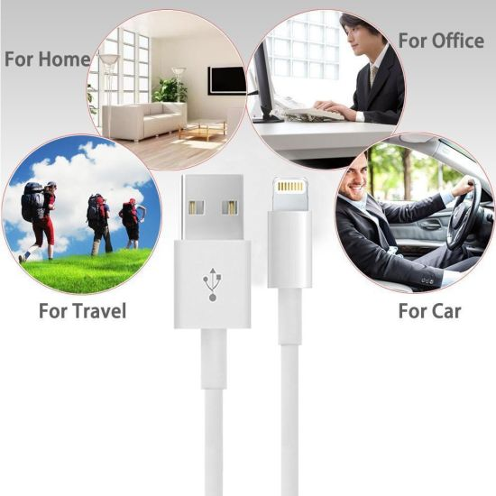 USB Data Cable Sync Charger Cable for iPhone pictures & photos
