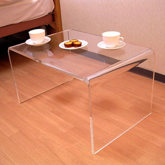 Acrylic End Coffee Table 21 Long X 12 Wide High 1 2 Thick
